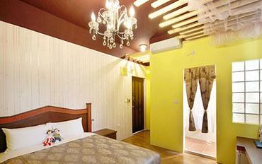 澎湖酒店公寓住宿:澎湖大鱼的家民宿茱丽叶大床房