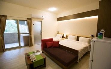新竹酒店公寓住宿:竹南美宿豪华三人套房