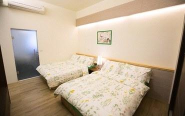 新竹酒店公寓住宿:竹南美宿豪华四人房