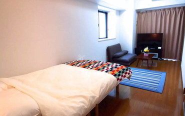 福冈酒店公寓住宿:福冈博多高级公寓十三号馆单卧室公寓