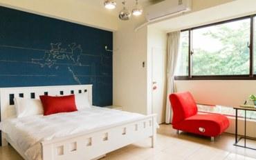 台中酒店公寓住宿:草悟森旅blue ocean雙人房