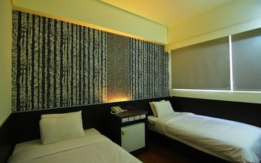 澎湖酒店公寓住宿:安一大饭店双人标准双床房