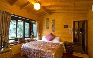 苗栗酒店公寓住宿:湖畔花时间湖畔浪漫双人温泉大床房