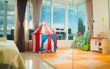 马来西亚酒店公寓住宿:吉隆坡市中心豪华景观儿童主题商务两房