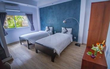 暹粒酒店公寓住宿:摩罗珀尔河畔酒店标准双床房