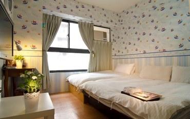 台中酒店公寓住宿:逢甲天空宿天空三人房