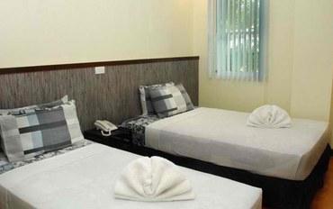 薄荷岛酒店公寓住宿:薄荷岛熊猫茶园套房标准双床房