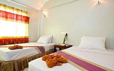 暹粒酒店公寓住宿:丹那客酒店双床房