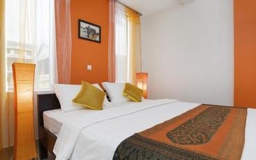 暹粒酒店公寓住宿:吴哥巴黎酒店标准大床房