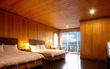 南投酒店公寓住宿:清境云顶度假山庄顶级双床房(随机不挑房)