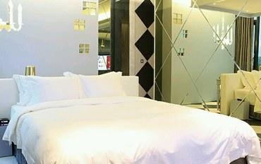 新竹酒店公寓住宿:欧游连锁精品旅馆-新竹馆晶钻套房