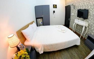 岘港酒店公寓住宿:岘港中心酒店大床房