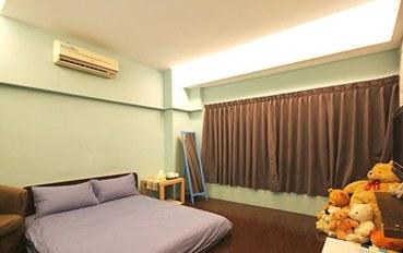台南酒店公寓住宿:台南Dear蒂儿民宿兰法风情二人大床房