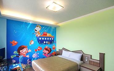 澎湖酒店公寓住宿:澎湖大鱼的家民宿海洋天堂大床房