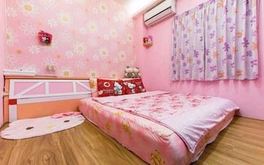 台东酒店公寓住宿:两朵花民宿宝贝粉二人套房
