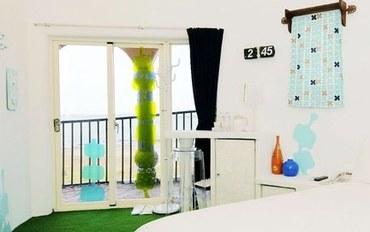 澎湖酒店公寓住宿:人鱼之丘民宿3F海草伊甸园大床房