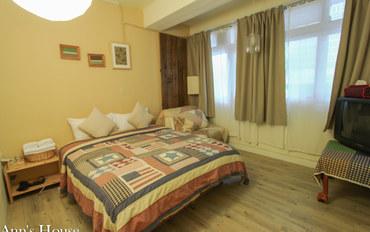 台北酒店公寓住宿:安的屋 大安馆两房一卫套房