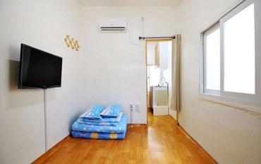 韩国酒店公寓住宿:Dodam旅馆大床房