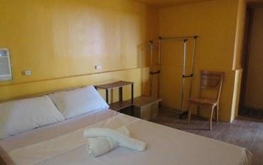 薄荷岛酒店公寓住宿:Bongalos公园广场旅馆大床房
