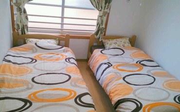 冲绳酒店公寓住宿:北谷民宿双床房