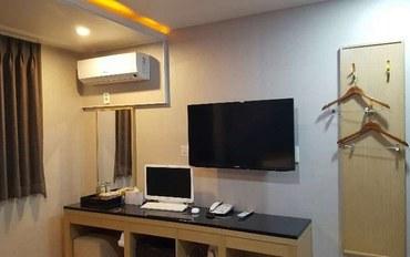 济州岛酒店公寓住宿:阿里巴酒店大床房