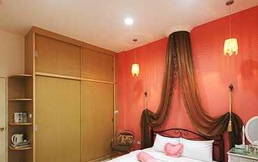 澎湖酒店公寓住宿:浪漫满屋渡假别墅罗曼大床房