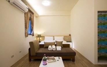 新竹酒店公寓住宿:竹南美宿双人标准套房