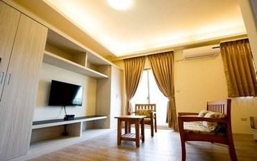 新竹酒店公寓住宿:竹南美宿豪华大床房