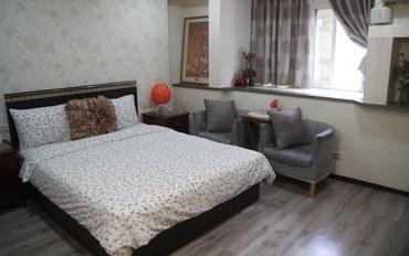 台北酒店公寓住宿:台北AUN捷运套房公寓标准二人大床房