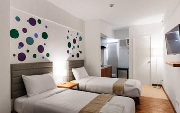 马尼拉酒店公寓住宿:H酒店-Uno地铁站北高级双床房