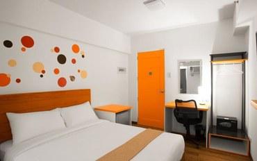 马尼拉酒店公寓住宿:H酒店-Uno地铁站北豪华大床房
