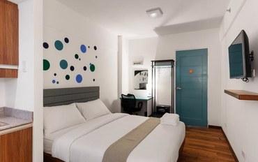 马尼拉酒店公寓住宿:H酒店-Uno地铁站北高级大床房