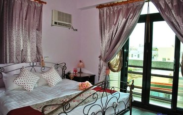 澎湖酒店公寓住宿:蔚蓝海民宿景观双人大床房