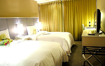 台北酒店公寓住宿:和昌商旅-台北站前館尊爵双床房