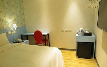 桃园酒店公寓住宿:E91旅店 桃园馆标准无窗大床房