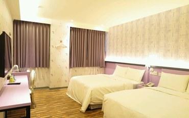 桃园酒店公寓住宿:E91旅店 桃园馆家庭四人房