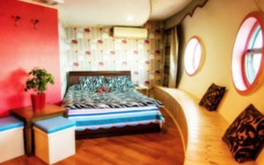 济州岛酒店公寓住宿:UFO度假屋大床房