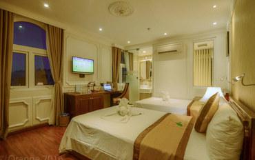 岘港酒店公寓住宿:桔子酒店套房双床房