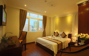 岘港酒店公寓住宿:桔子酒店豪华大床房