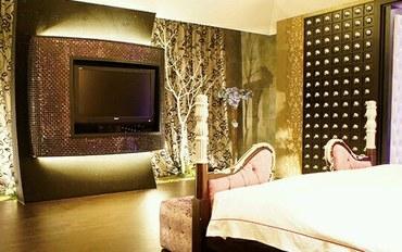 桃园酒店公寓住宿:欧游连锁精致旅馆-中坜魅力馆总统套房