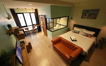曼谷酒店公寓住宿:阿本的曼谷民宿Premium豪华大床房