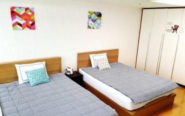 首尔酒店公寓住宿:SH首尔酒店高级双床房