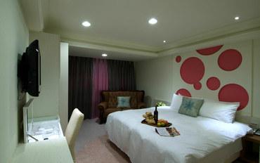 台中酒店公寓住宿:奇异果快捷旅店-站前一馆大床房
