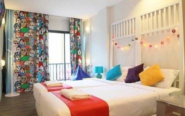普吉岛酒店公寓住宿:普吉岛卡塔海滩菲恩旅馆家庭三人房