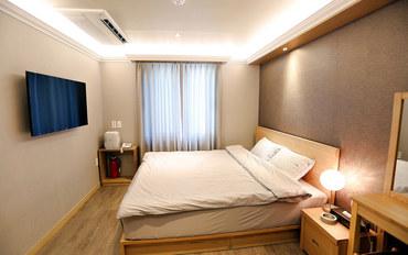 韩国酒店公寓住宿:世宗酒店大床房