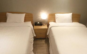 济州岛酒店公寓住宿:世宗酒店标准双床房