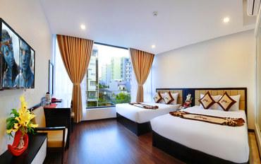 岘港酒店公寓住宿:岘港五月酒店家庭房
