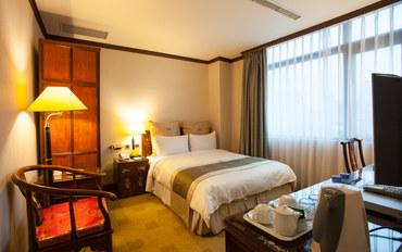 台北酒店公寓住宿:富园国际商务饭店商务大床房