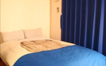 福冈酒店公寓住宿:福冈博多高级公寓十六号馆单卧双床房