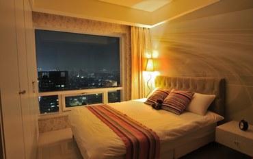 台中酒店公寓住宿:左莘房旅店二人豪华套房